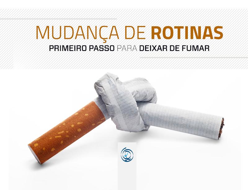 Mudança de rotinas – 1º passo para deixar de fumar
