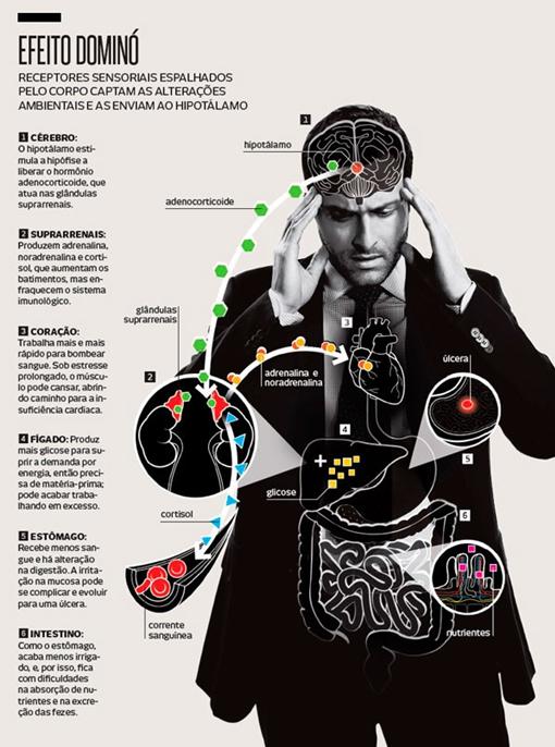 Como os problemas emocionais se transformam em doença