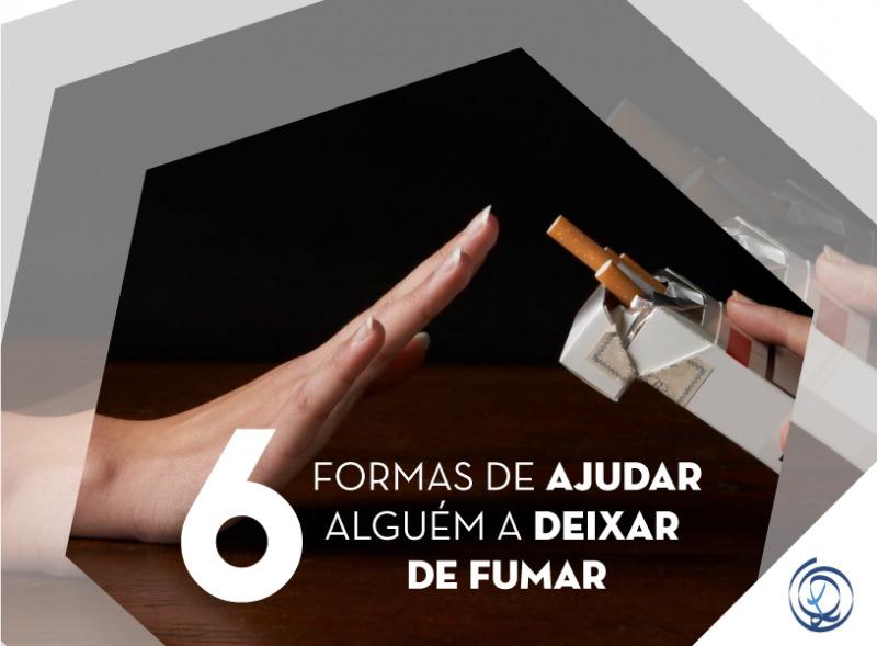 6 formas de ajudar alguém a deixar de fumar