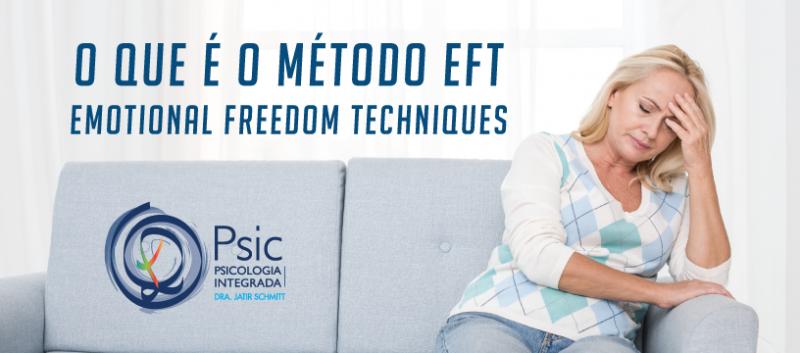 O que é o método EFT Emotional Freedom Techniques