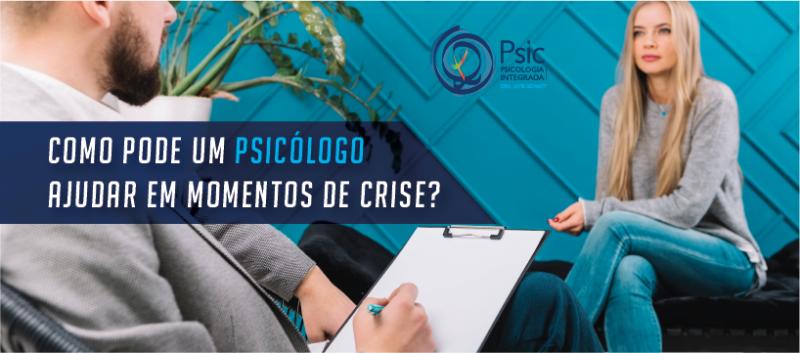 Como pode um psicólogo ajudar em momentos de crise?