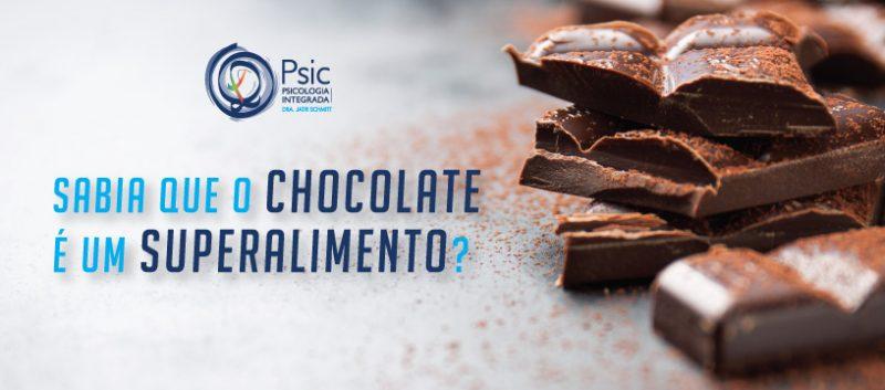 Sabia que o chocolate é um superalimento?