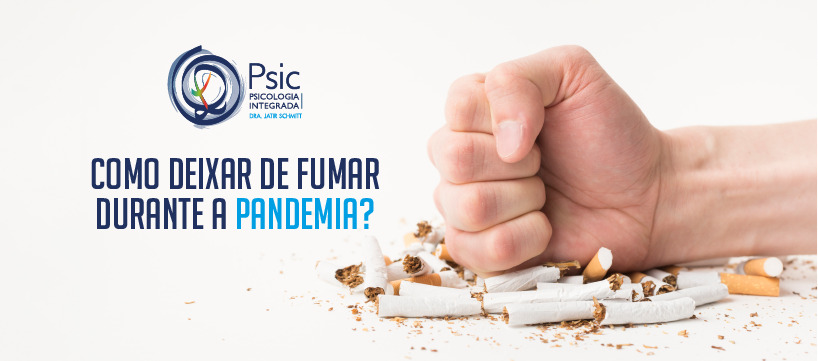como deixar de fumar durante a pandemia